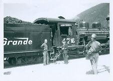Vintage DRGW Rio Grande #476 K-287 NG steam Locomotive a George Niles Jr. photo