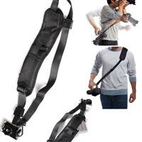 Quick Release Anti-Slip Soft Pad Shoulder Camera Strap for SLR / DSLR Cameras