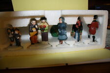 Dept 56 Heritag Village collection #55514 David copperfield characters set of 5