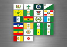 Flag sheet sticker labels country subdivisions states province guatemala