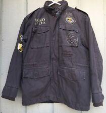Ecko Unlimited Camo Military Style 1972 Coat Jacket  Size Large