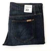 """Joe's Jeans """"The Classic"""" Straight Fit Medium/Dark Wash Men's Size 33X35"""