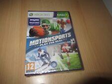 Xbox 360 Kinect- Motionsports - Play pour Véritable Neuf et Scellé GB Version