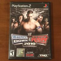 WWE SmackDown vs. Raw 2010 (Sony PlayStation 2, 2009) PS2 Complete & Tested!!!