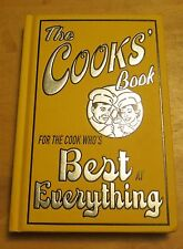 NEW The Cooks' Book For the Cook Who's Best at Everything Louise Dixon