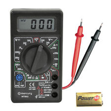 AC/DC Multimeter Electronic LCD Multi Tester Digital Meter Multimeter Voltmeter