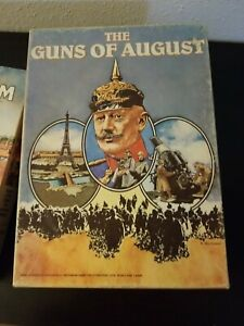 Avalon Hill AH : The GUNS of AUGUST - Strategic World War I game USED. Complete