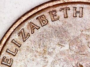 1966 Australia 1c One Cent ** ERRORS - DOUBLING and OFF CENTRE ** #B53