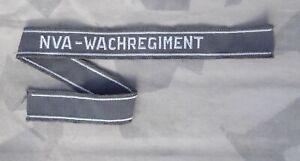 NVA Ärmelband Wachregiment Ärmelstreifen grau original