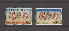Philippine Stamps 1984 Stamps on Stamps (Ausipex -84) set MNH