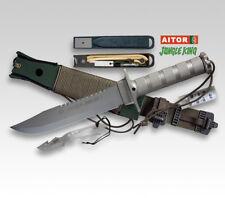 Aitor Jungle King i Bushcraft viajes cuchillo & muchos accesorios & beimesser Outdoor