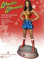 Wonder Woman Season One Maquette DC Statue Tweeterhead Lynda Carter - Exclusive