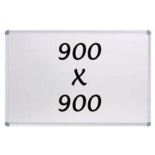 New Magnetic Whiteboard 900 X 900mm Writing Board Commercial 10y Warranty