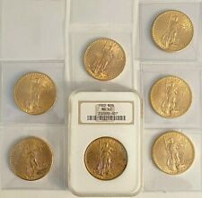 Seven_- Brilliant Uncirculated U.S. $20 St. Gaudens Cold Coin,See Other Gold