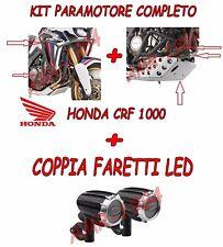 KIT GIVI PARAMOTORE COMPLETO + PARACOPPA + FARETTI A LED HONDA CRF 1000 2016