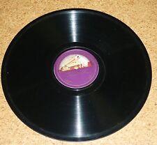 78 rpm Schubert Mischa Elman Violin Percy B Kahn Piano Monarch Grammophon 07927