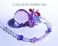 m/w Swarovski 30mm Violet Pineapple Rare Leaves SunCatcher Lilli Heart Designs