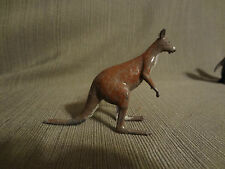Antique Farm Train Lead Toy Adult Kangaroo Dollhouse Miniature Zoo Animal