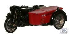 76BSA003 Oxford Diecast Royal Mail BSA Motorcycle _Sidecar 1/76 Scale OO Gauge