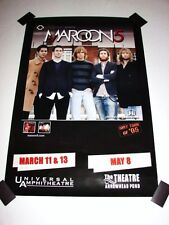 "Maroon 5 Civic 2005 Tour 36""x24"" Concert Event Souvenir Poster Adam Levine New"