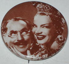 "Marx Brothers ""Groucho & Carmen Miranda"" Photo Pin 1.75"""
