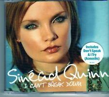 (DM850) Sinead Quinn, I Can't Break Down - 2003 CD