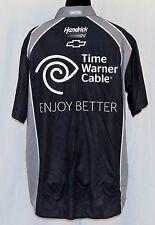 Kasey Kahne Time Warner Cable Hendrick Motorsports NASCAR Pit Crew Shirt NEW! M