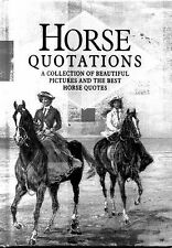 """""""VERY GOOD"""" Horse Quotations (In Quotations), , Book"""