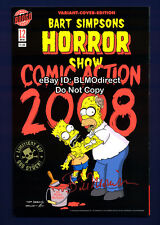1 Bart Simpsons Horror Show 12 RRP Exclusive Signed Variant Treehouse Of
