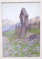 Ladislaus Edler von Benesch (1845-1922, Wien): Alpine Landscape, Landschaft