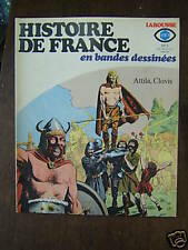 HISTOIRE DE FRANCE EN BD  2 / ATTILA / CLOVIS / RIBERA