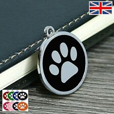 Dog ID / Cat ID STRONG METAL Tag Disc Personalised Tags UNLIMITED FREE ENGRAVING