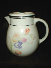 Hall China TULIP 52 oz Water/Juice/Iced Tea Pitcher/Jug w Lid - RARE