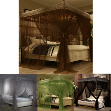 Princess Bed Canopy Mosquito Net Bracket Bedding Insect Net Single Double Queen