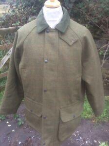 Mens Waterproof Tweed Coat Jacket Breathable Country Shooting Hunting size S-6XL