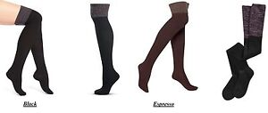 Hue Over The Knee Socks Ribbed Space Dyed Socks One Size