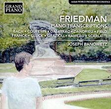 Friedman: Piano Transcriptions, New Music