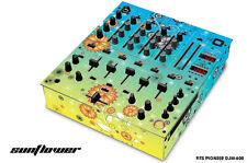 Skin Decal Wrap for PIONEER DJM-600 DJ Mixer CD Pro Audio DJM600 Parts SUNFLOWER