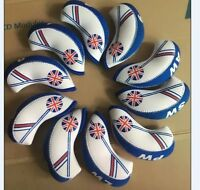 Neoprene UK Flag Golf Club Headcover Head Cover Iron Protect Set Union Jack 10