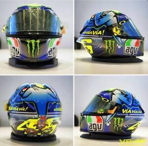 Valentino Rossi AGV CORSA MISANO 2015 Monster Logo Motorcycle Moto GP DOT Helmet