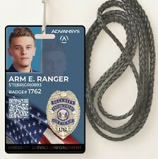 Detective | Private Investigator or Security Officer ID Card Badge | Customized