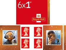 "Star Wars: The Last Jedi""- Retail Stamp Book -Aliens - Stamp Booklet"