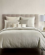 Hotel Collection Birch KING Reversible Comforter SILVER A08037