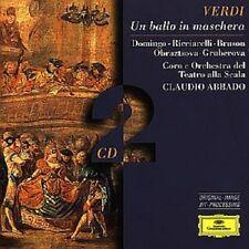 """Claudio credesse """"un ballo in maschera (GA)"""" 2 CD NUOVO"""