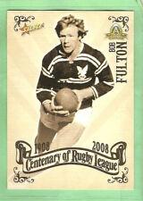 2008 RUGBY LEAGUE CENTENARY CARD #75  BOB FULTON, MANLY, EASTERN SUBURBS