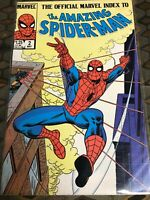 The Official Marvel Index To The Amazing Spider-Man # 2,3,4,5,6,7,8,9 (8.0-9.0)