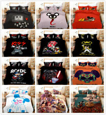 3D Disney Mickey Mouse Star Kids Duvet Cover Bedding Set Quilt Cover Pillowcase