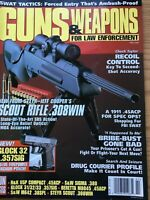Guns And Weapons For Law Enforcement Feb 1998, Steyr Scout .308 Win