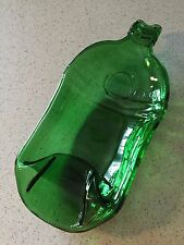 Tanqueray Gin ashtray spoon rest dish slumped flattened melted bottle