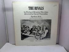 RIVALS BY RICHARD BRINSLEY SHERIDAN SPOKEN ARTS SA971-972 SA LP's RECORD   VINYL